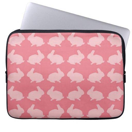 Bunny Pattern Laptop Sleeve