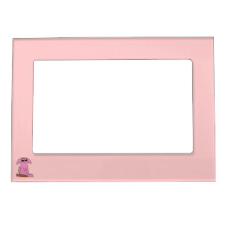 Bunny Picture Frame Magnet