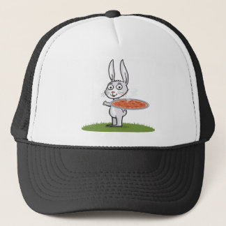 Bunny Pizza Trucker Hat
