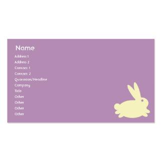 Bunny Rabbit - Business Business Card Templates
