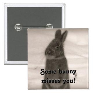 Bunny Rabbit Buttons