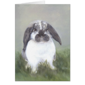 Bunny Rabbit Card