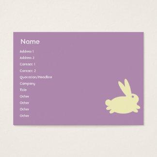Bunny Rabbit - Chubby Business Card