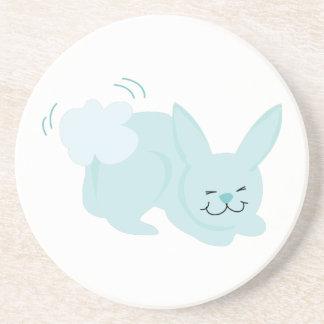 Bunny Rabbit Drink Coasters