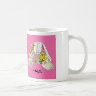 Bunny Rabbit Mug personalise name daugher etc
