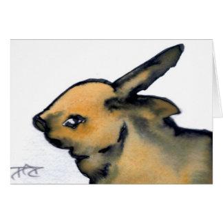 Bunny Rabbit Products - CricketDiane Art Greeting Card