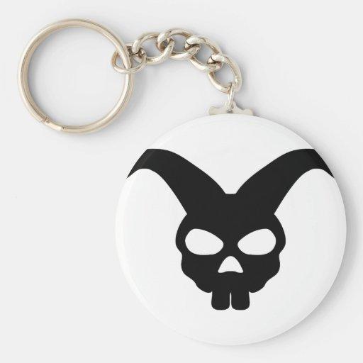 Bunny Rabbit Skull Key Chain