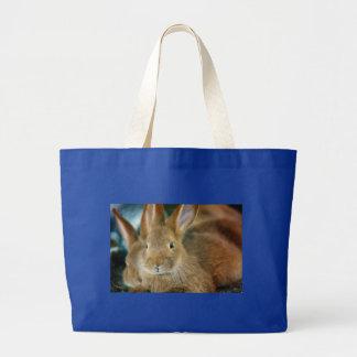 Bunny Rabbit Canvas Bags