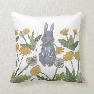 Bunny, Rabbit, Woodland Cushion