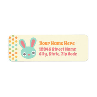 Bunny return address labels