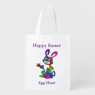Bunny Reusable Easter Egg Hunting Bag
