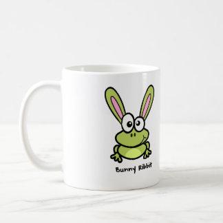 Bunny Ribbit - Rabbit Frog Coffee Mug