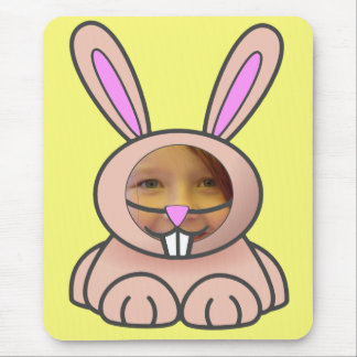 Bunny Suit (Yellow) Template Mousepad