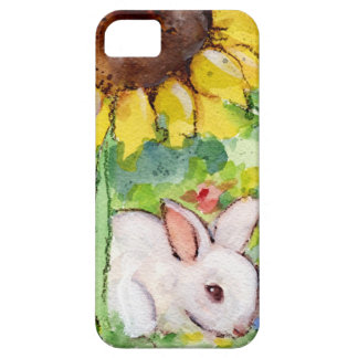 Bunny & Sunnflower Barely There iPhone 5 Case