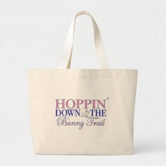 Bunny Trail Canvas Bag