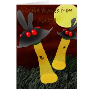 Bunny UFO's Card