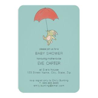 Bunny Umbrella Card