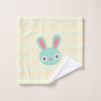 Bunny wash cloth
