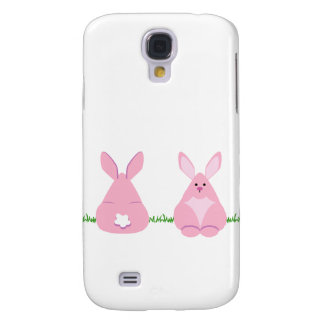Bunny Watching Galaxy S4 Case