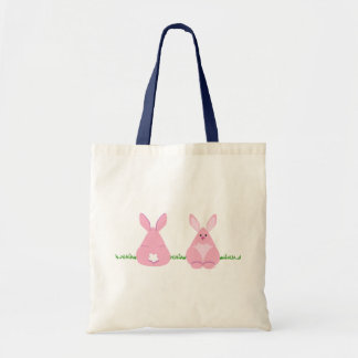 Bunny Watching Tote Bag