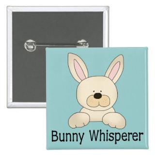 Bunny Whisperer 15 Cm Square Badge
