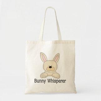 Bunny Whisperer Canvas Bag