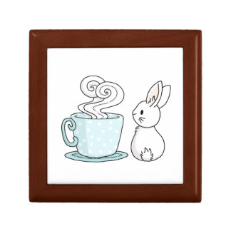 Bunny with a Cup of Tea Gift Box