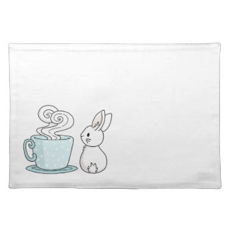 Bunny with a Cup of Tea Placemat