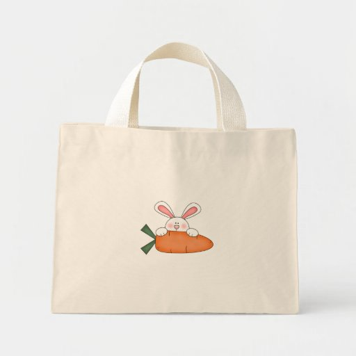 Bunny With Carrot Tshirts and Gifts Bag