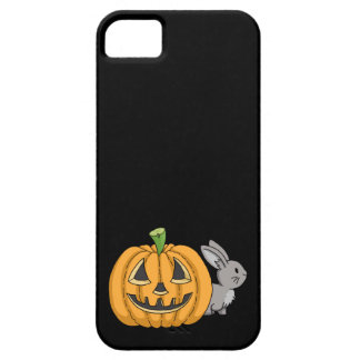 Bunny with Jack O Lantern Case For The iPhone 5