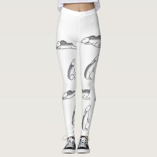 Bunny Yoga Pants