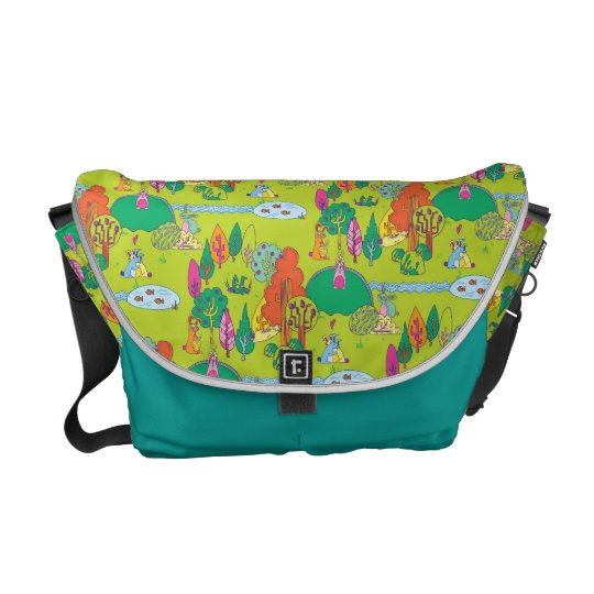 Bunnyland Messenger Bag for Kids