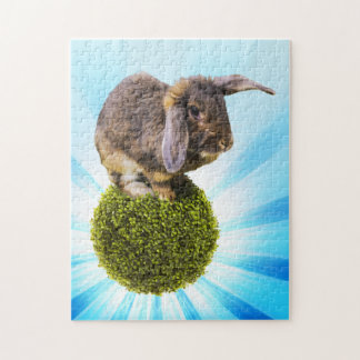 BunnyLuv 11X14 Puzzle Featuring Twink