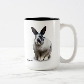 BunnyLuv Mug featuring Bogart