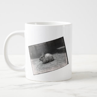 BunnyLuv old time picture Giant Coffee Mug