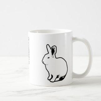 BunnyLuv White Rabbits mug