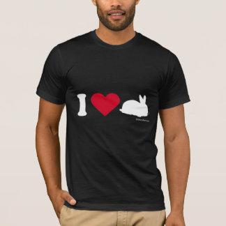 BUNNYT-SHIRT  - I LOVE BUNNIES T-Shirt