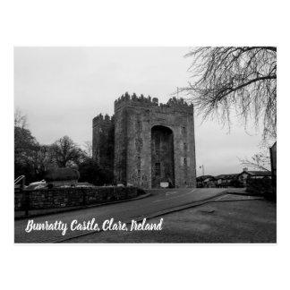 Bunratty Castle, Clare, Ireland Postcard