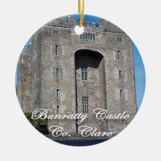 Bunratty Castle, Ireland, Christmas Ornament, Christmas Ornament