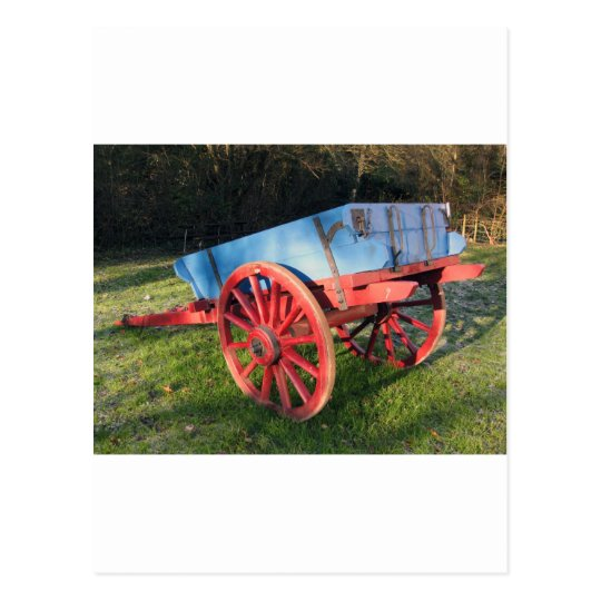 Bunratty farm cart postcard