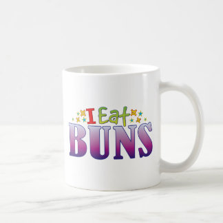 Buns I Eat Basic White Mug