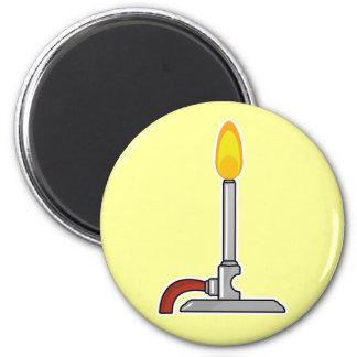 Bunsen Burner 6 Cm Round Magnet