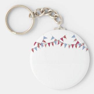 Bunting - key ring