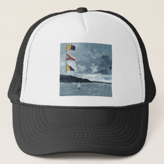 Bunting on the Bay Trucker Hat