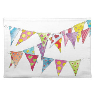 Bunting Place Mats