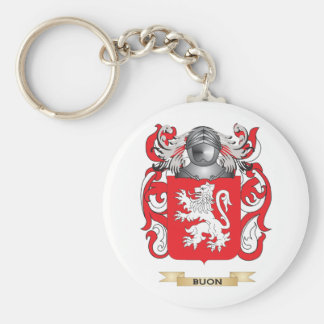 Buon Coat of Arms Family Crest Key Chains