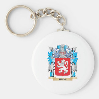 Buon Coat of Arms Key Chain