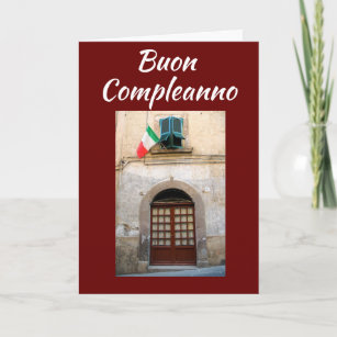 Italian Birthday Cards Invitations Zazzlecouk