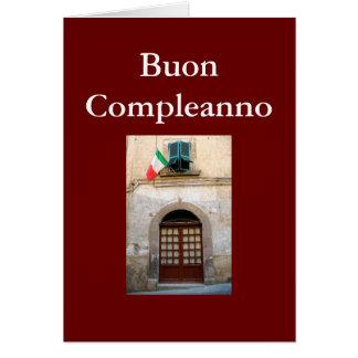BUON COMPLEANNO ITALIAN BIRTHDAY CARDS