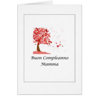 Buon Compleanno Mamma - Italian Card